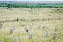 El soporte pasado de Custer Imágenes de archivo libres de regalías