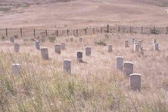 El soporte pasado de Custer Fotos de archivo libres de regalías