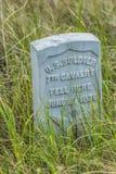 El soporte pasado de Custer fotografía de archivo