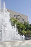 El sorounding del templo de Salt Lake Foto de archivo libre de regalías