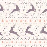El sorprender de los ciervos inconsútil Imagen de archivo libre de regalías