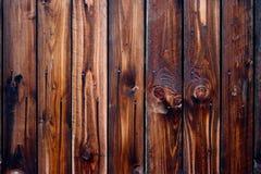 El sorprender de madera de la textura de la naturaleza del fondo de madera de madera de la cerca Foto de archivo
