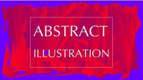 El sostenido geométrico figura el fondo abstracto stock de ilustración
