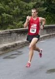 El sprint al final Foto de archivo libre de regalías