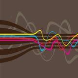 El Squiggle alinea vector Imagenes de archivo