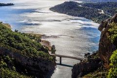 El St Croix del lago Fotografía de archivo