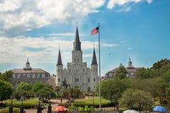 El St Louis Cathedral Imágenes de archivo libres de regalías