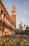 El St marca el cuadrado, Venecia fotos de archivo libres de regalías