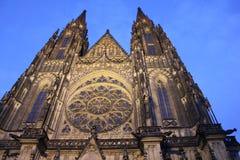 El St Vitus Cathedral Imagen de archivo libre de regalías