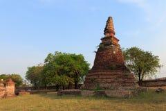 Stupa antiguo Imagen de archivo libre de regalías