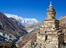 El stupa budista en Himalaya Imagenes de archivo