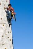 El subir de la pared Fotografía de archivo libre de regalías