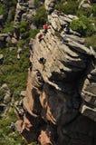 El subir de montaña Fotografía de archivo libre de regalías
