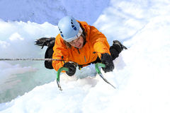 El subir del hielo libre illustration