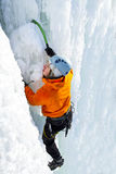El subir del hielo imagen de archivo