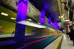 El subterráneo de Munich Imagen de archivo