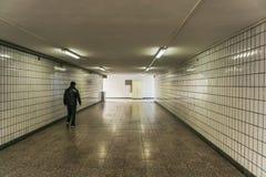 El subterráneo de Pekín Imagen de archivo libre de regalías