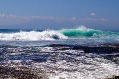 El sueño de la persona que practica surf Foto de archivo