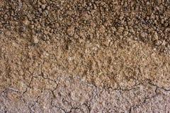El suelo es minerales naturales de una arcilla es naturalmente mucha especie suita Foto de archivo libre de regalías