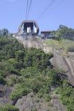 El Sugarloaf que eleva el tren Imagen de archivo
