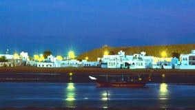 el sur Laguna Oman Zdjęcia Royalty Free