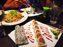 El sushi está listo Imagen de archivo