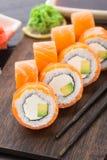 El sushi rueda Philadelphia Fotos de archivo
