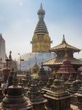 El Swayambhunath Stupa en Katmandu fotografía de archivo libre de regalías
