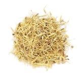 El té seco orgánico de Mulethi (glabra del Glycyrrhiza) cortó raíces fotografía de archivo