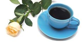 El té y se levantó Foto de archivo