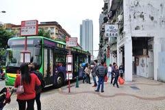 El término de autobuses Fotos de archivo libres de regalías