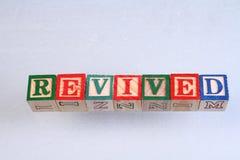 El término restablecido fotografía de archivo libre de regalías