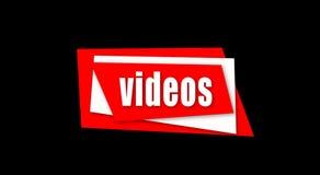 El título hermoso de los vídeos aparece y desaparece