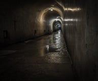 El túnel Foto de archivo libre de regalías
