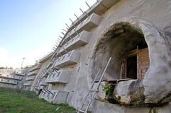 El túnel bajo construcción Fotos de archivo