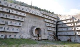 El túnel bajo construcción Fotografía de archivo libre de regalías