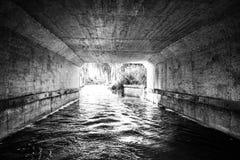 El túnel de la luz Imágenes de archivo libres de regalías