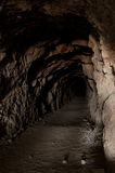 El túnel largo Imagen de archivo