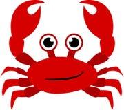 El ` t de Don come el rojo crustáceo ilustración del vector