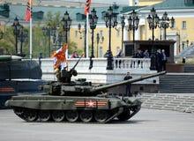 El T-90A es tanque de batalla principal ruso de tercera generación Fotos de archivo libres de regalías