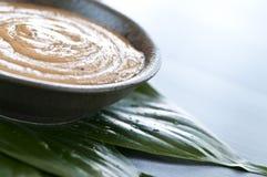 El té verde friega Imagen de archivo libre de regalías