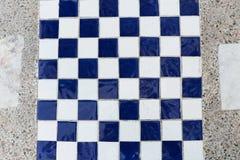El tablero de ajedrez Imágenes de archivo libres de regalías