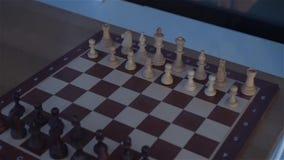 El tablero de ajedrez The Game almacen de video