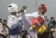 El Taekwondo Fotos de archivo libres de regalías