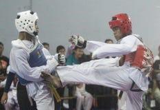 El Taekwondo Fotografía de archivo