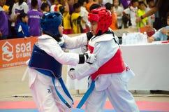 El Taekwondo Fotos de archivo
