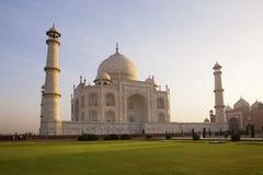 El Taj Mahal. Imagenes de archivo