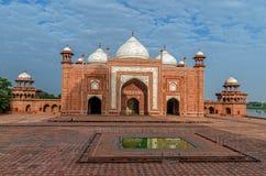 El TAJ MAHAL, Agra, la India, Shah Jahan, Mumtaz Mahal, Mughal Archite imagen de archivo libre de regalías