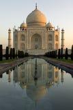 El Taj Mahal en la India Foto de archivo