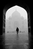 El Taj Mahal en la India imagen de archivo libre de regalías
